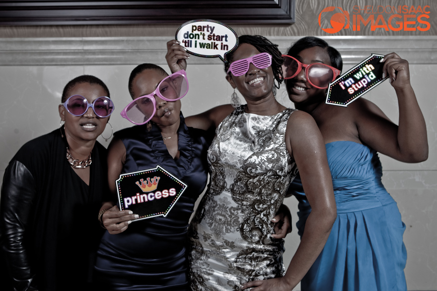 Smile Photo Booth, Ladies having fun