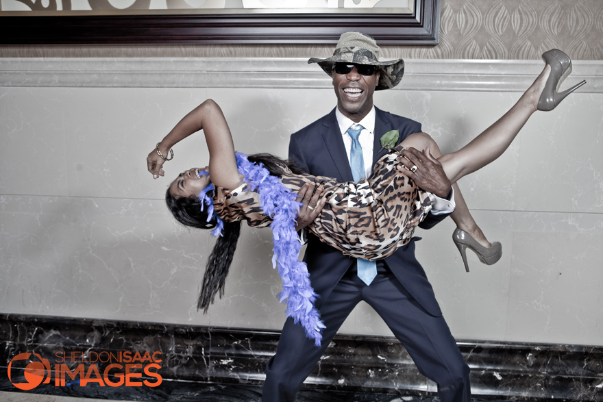 Smile Photo Booth, husband lifts wife off her feet