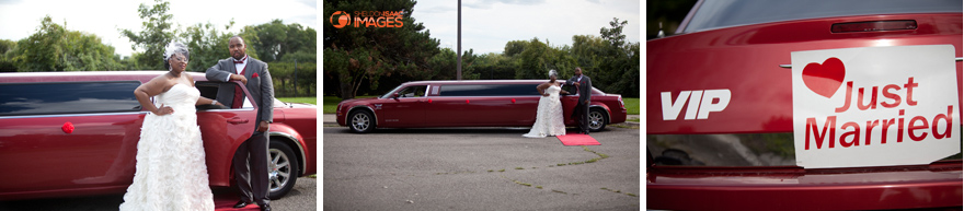 Just Married Limo Sign
