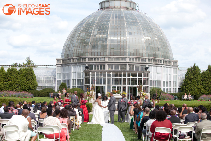 Ceremony at Belle Isle