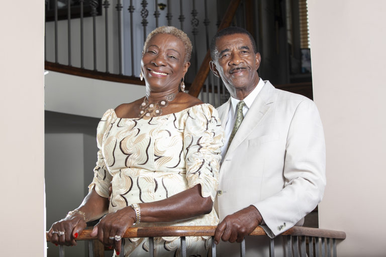 Pastor and First Lady Fraser in Markham