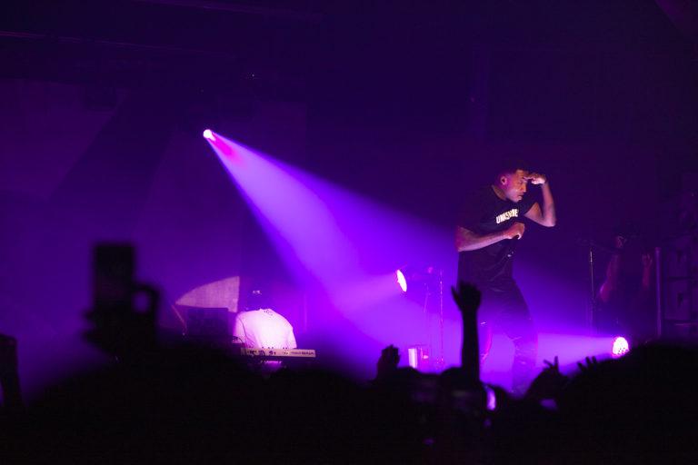 Christian Rapper Lecrae performs in Toronto